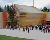 Auditorium del Parco – Progetto a cura dell'arch. Renzo Piano – L'Aquila (AQ)
